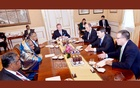 Hasina discusses water resources with Hungarian president