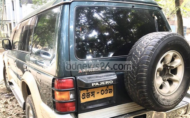 The SUV Stefan Priesner used while serving as the UNDP chief in Dhaka.