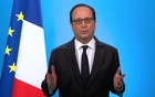 French President Francois Hollande, seen in this picture taken from French TV, makes a televised address from the Elysee Palace in Paris, France, Dec 1, 2016. HANDOUT/France Television via Reuters