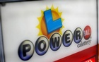 A Powerball sign is pictured at an ampm convenience store in Pasadena, California US, November 21, 2016. Reuters