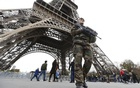 Representational Image: French military patrol near the Eiffel Tower the day after a series of deadly attacks in Paris , November 14, 2015. Reuters