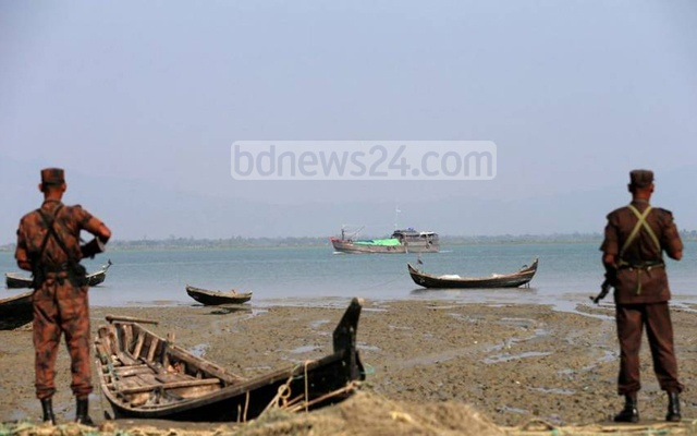 BGB has strengthened security along the frontier with Myanmar to stop intrusion of Rohingya Muslims fleeing persecution by authorities. File photo