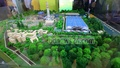 A model of the much-discussed coal-fired power plant to be built in Bagerhat's Rampal is on display at the exhibition organised to mark National Power and Energy Week 2016 at International Convention City Bashundhara on Wednesday. Photo: mostafigur rahman