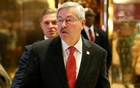 Governor of Iowa Terry Branstad exits after meeting with US President-elect Donald Trump at Trump Tower in Manhattan, New York City, US, Dec 6, 2016. Reuters