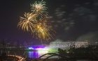 FILE -- Fireworks lit up the night sky during a festival of lights at Hatirjheel in Dhaka on Dec 8, 2016 when the country touched the milestone of 15,000 megawatt power generation. Electricity generation has crossed 22,000MW now. Photo: Mostafigur Rahman