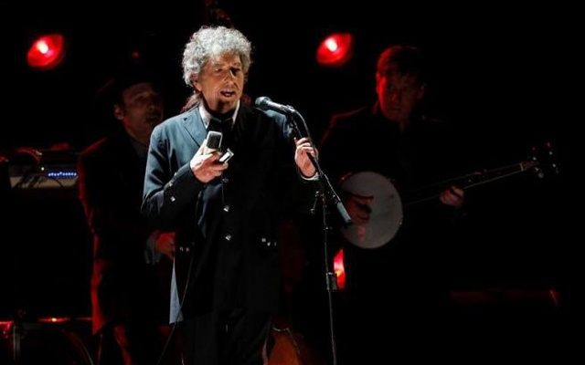 Singer Bob Dylan in Los Angeles, Jan 12, 2012. Reuters File Photo