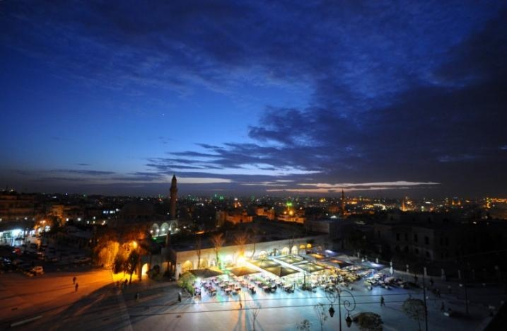 A general view shows the Old City of Aleppo, Syria November 24, 2008. Reuters