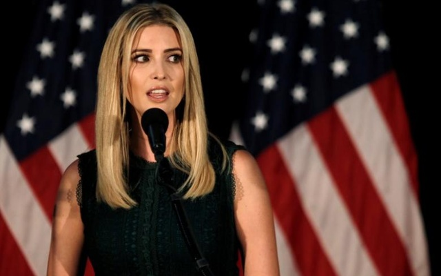 Ivanka Trump, daughter of Republican presidential nominee Donald Trump, speaks at a campaign event in Aston, Pennsylvania, U.S., September 13, 2016. Reuters