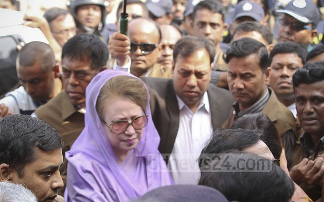 BNP Chairperson and former prime minister Khaleda Zia has been in London since mid July. File photo