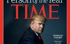 US President-elect Donald Trump poses for photographer Nadav Kander for the cover of Time Magazine after being named its person of the year, in a picture provided by the publication in New York December 7, 2016. Time Magazine/Handout via Reuters