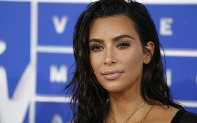 Kim Kardashian arrives at the 2016 MTV Video Music Awards in New York, US, August 28, 2016. Reuters