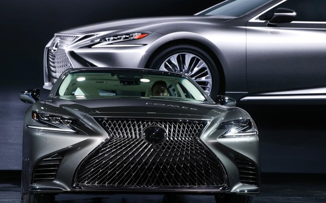 The 2018 Lexus LS 500. Reuters