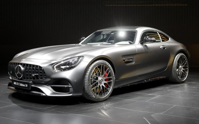 The 2018 Mercedes-AMG GT C Edition 50. Reuters