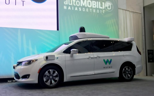 Waymo unveils a Chrysler Pacifica Minivan equipped with a self-driving system developed by the Alphabet Inc unit. Reuters