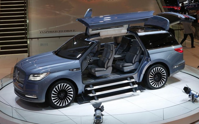 The Lincoln Navigator concept SUV. Reuters