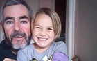 Alan Langdon, 46, and his daughter Que, 6, in a picture from his Facebook profile.