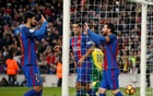 Barca ease past Las Palmas to provisionally go second