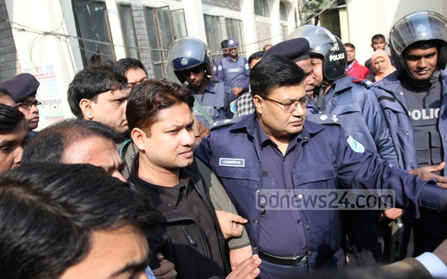 Investigators found that former army major Arif Hossain was on the spot when the killings took place late on Apr 27, 2014. Photo: asif mahmud ove