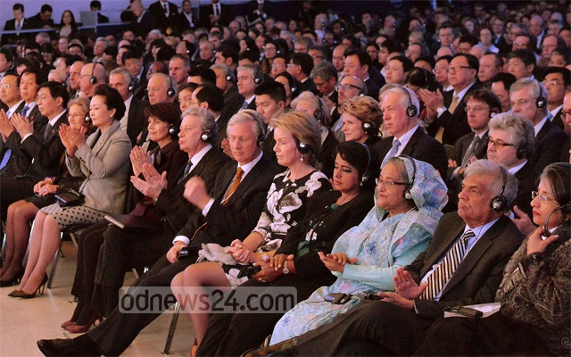 Hasina attends WEF Davos 2017 opening ceremony
