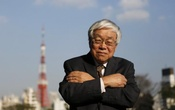 Koichi Hamada, professor emeritus of economics at Yale University and an economic adviser to Japan's Prime Minister Shinzo Abe, poses for photos after an interview with Reuters in Tokyo March 15, 2013. Reuters