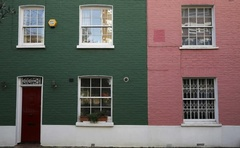 Houses are seen in London, Britain January 19, 2017. Reuters