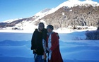 Playful Hasina rolls back the days with Rehana in snow-covered Switzerland
