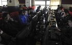 Customers use computers at an internet cafe in Hefei, Anhui province March 16, 2012. Reuters