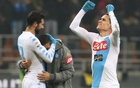 Napoli put another dent in Milan's Champions League hopes