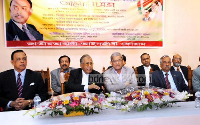 Quader's EC search panel comments aim at making president controversial: Mirza Fakhrul