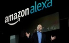Mike George, VP Alexa, Echo and Appstore for Amazon at CES in Las Vegas. Reuters