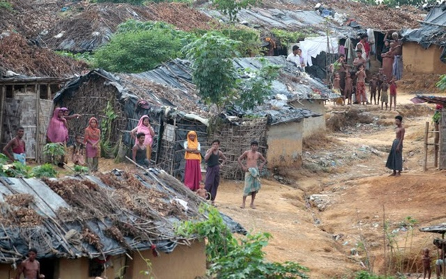 A Rohingya refugee camp. Photo: Reuters