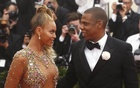 Beyonce arrives with husband Jay-Z at the Metropolitan Museum of Art Costume Institute Gala 2015 celebrating the opening of 'China: Through the Looking Glass,' in Manhattan, New York May 4, 2015. Reuters