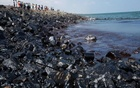 Indian authorities impound ships, detain crew over oil spill