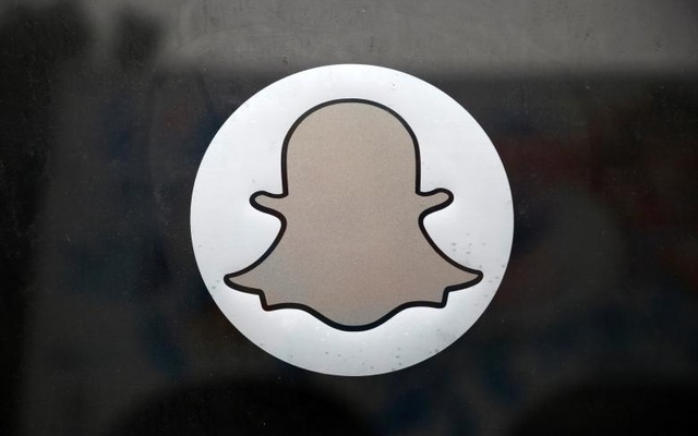 A billboard displays the logo of Snapchat above Times Square in New York Mar 12, 2015. Reuters