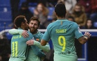 Messi, Suarez, Neymar on target as Barca rout Alaves
