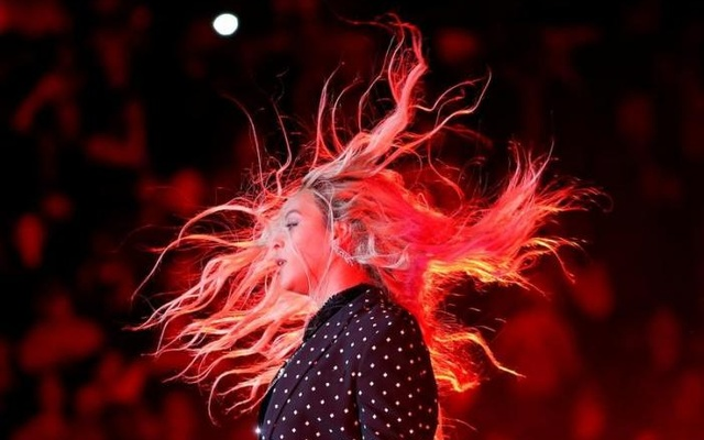 Beyonce performs at a campaign concert for U.S. Democratic presidential nominee Hillary Clinton in Cleveland, Ohio, U.S. November 4, 2016. Reuters