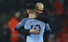 Aguero makes striking comeback as City go second