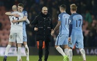 Guardiola happy but says gap behind Chelsea is