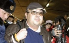 FILE PHOTO: Kim Jong Nam arrives at Beijing airport in Beijing, China, in this photo taken by Kyodo February 11, 2007. Reuters/File Photo