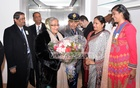 Prime Minister Sheikh Hasina reaches Munich to attend security conference