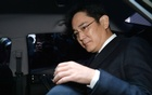 Samsung Group chief, Jay Y Lee, leaves for the Seoul Central District Court at the office of the independent counsel in Seoul, South Korea, Feb 16, 2017. Reuters