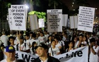 Thousands of Filipino Catholics march against death penalty, war on drugs