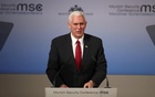 Pence pledges US will stand firm with Europe, NATO