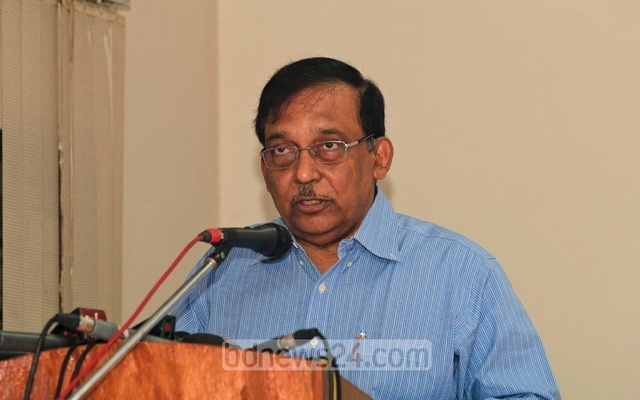 Home Minister Asaduzzaman Khan Kamal (File Photo)