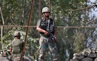 Indian Army soldiers at a post at the Jammu and Kasmir region. Reuters file photo