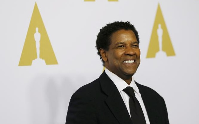 FILE PHOTO - Actor Denzel Washington arrives at the 89th Oscars Nominee Luncheon in Beverly Hills, California, US, February 6, 2017. Reuters