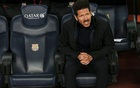 Simeone seeks first Liga win over Barca in his 300th game