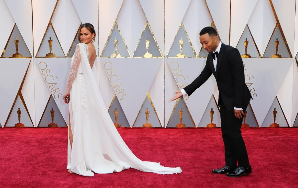 Chrissy Teigen and John Legend. Reuters