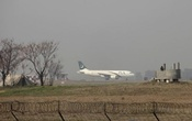 A Pakistan International Airlines (PIA) passenger plane prepares to take off from the Benazir International airport in Islamabad, Pakistan, Feb 9, 2016. Reuters