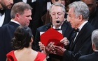 Warren Beatty looks on during presentation for Best Picture. Reuters